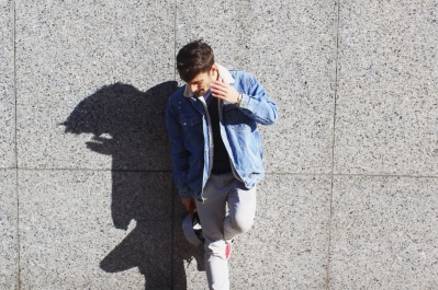 Denim vintage jacket 1