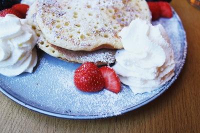 pancakes @ Lloyd café presse