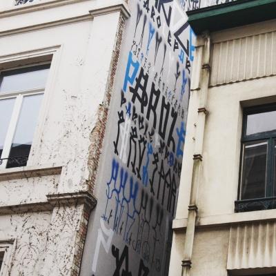 les facades rue de Namur