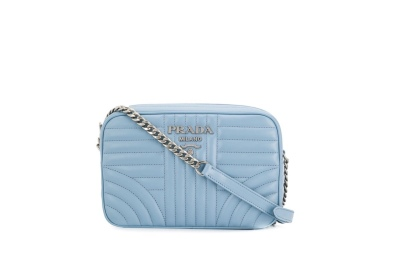 Prada diagramme cross body bag